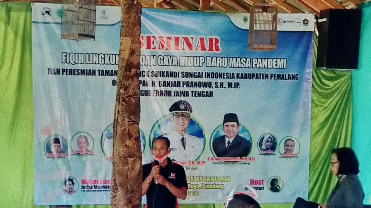 Relawan Peduli Kemanusiaan RPK Jawa Tengah Gelar Seminar Tentang Lingkungan