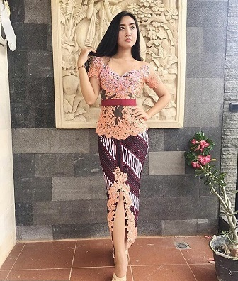 Gambar Model Kebaya Bali Terbaru