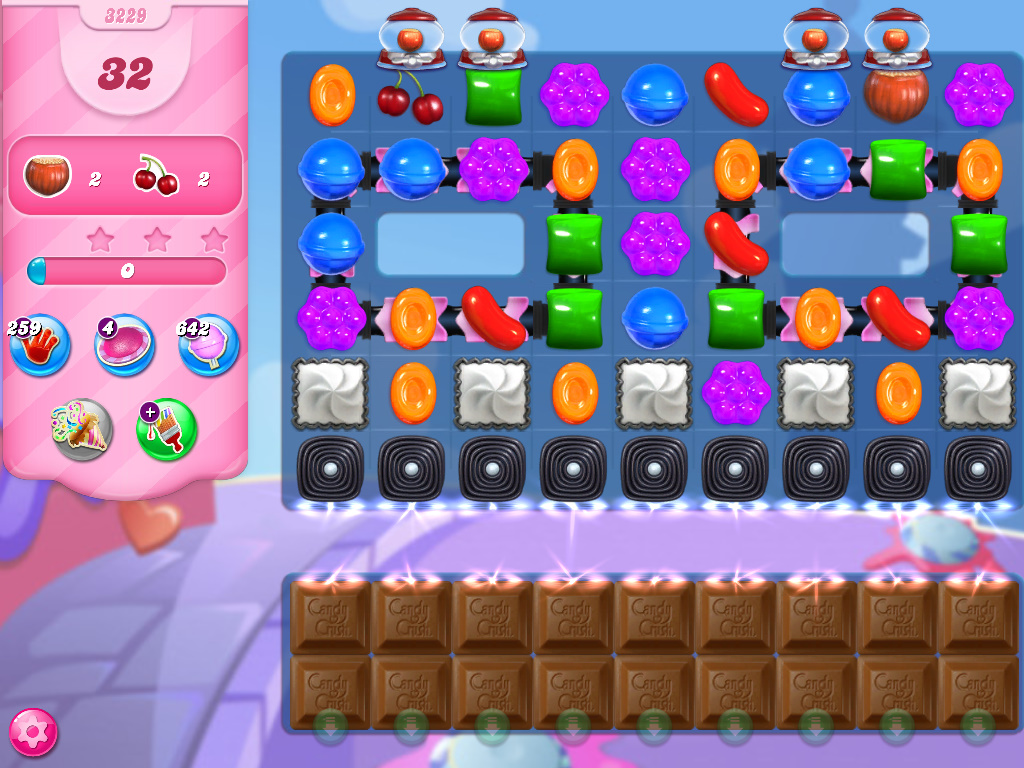 Candy Crush Saga level 3229