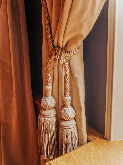 Luxury Gold Rope Curtain Tassels