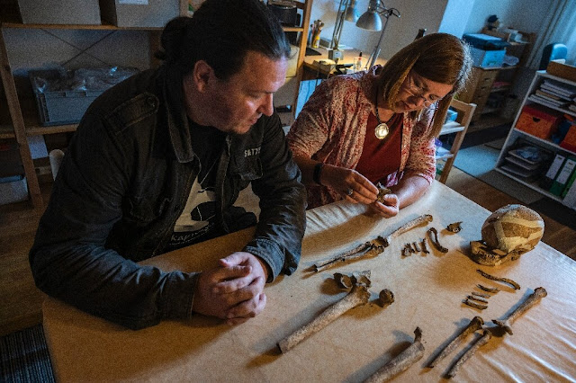 Neolithic skeleton find in Germany offers clues on prehistoric era