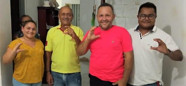 Família do Ex- vice prefeito Valmir Firmino, declara apoio a pré- Candidatura de Cinthia Sonale e Galego