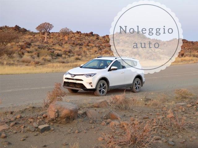 Auto a noleggio in Namibia