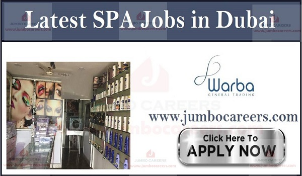Current Jobs in UAE,  Beauty Parlor Jobs in Dubai,