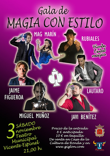 Festival Ronda Ciudad Mágica 2018