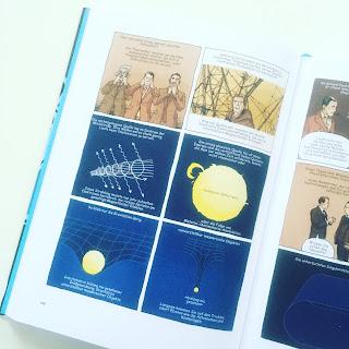 Comic Physik Forscher schwarzes Loch ALS Bestseller Buchtipp Wissenschaft