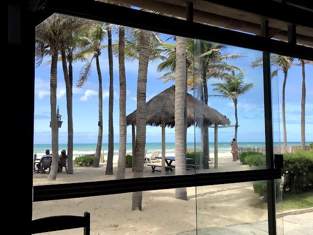 Beach Park - Hotel Oceani, nossa vista do café da manhã