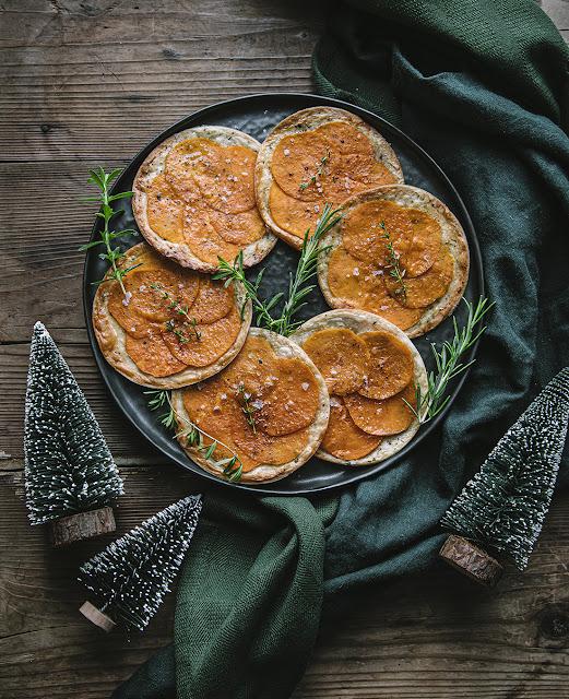 Recette Blinis de Noël Vegan