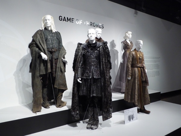 Original Game of Thrones costumes
