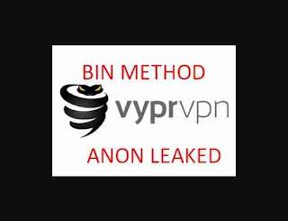 VyprVPN 1 Month Bin Method 2019
