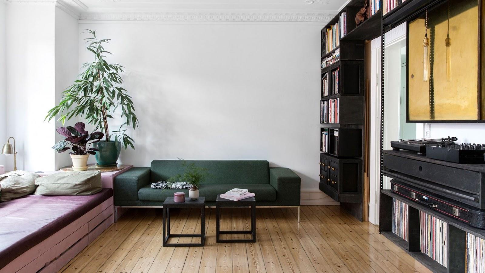 A Copenhagen Apartment by Spacon & X