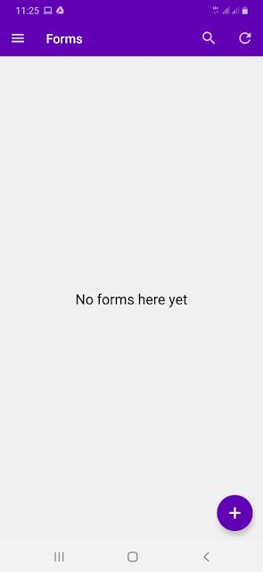 cara membuat google form di HP langkah 1