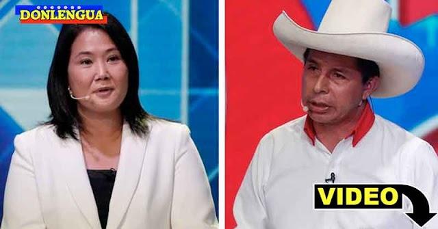 Keiko Fujimori y Pedro Castillo empatan en elecciones peruanas