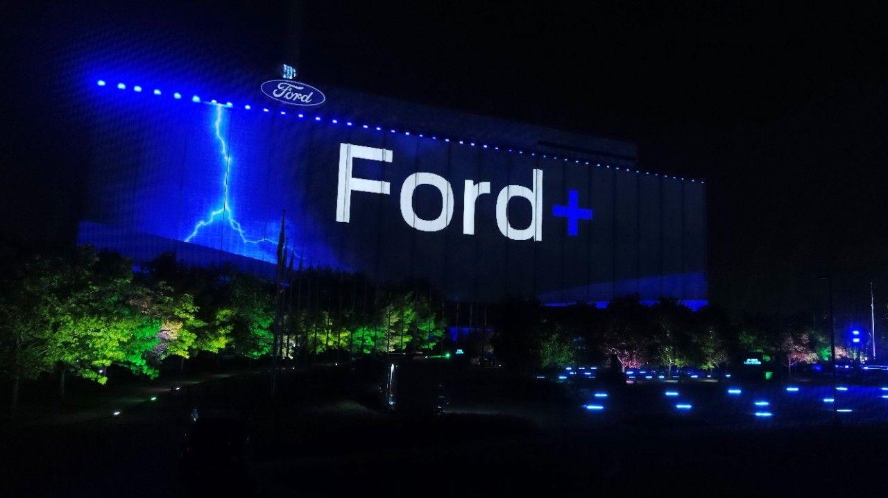 شعار فورد - لافتة