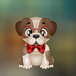 Games4King - G4K Cute Affectionate Dog Escape Game