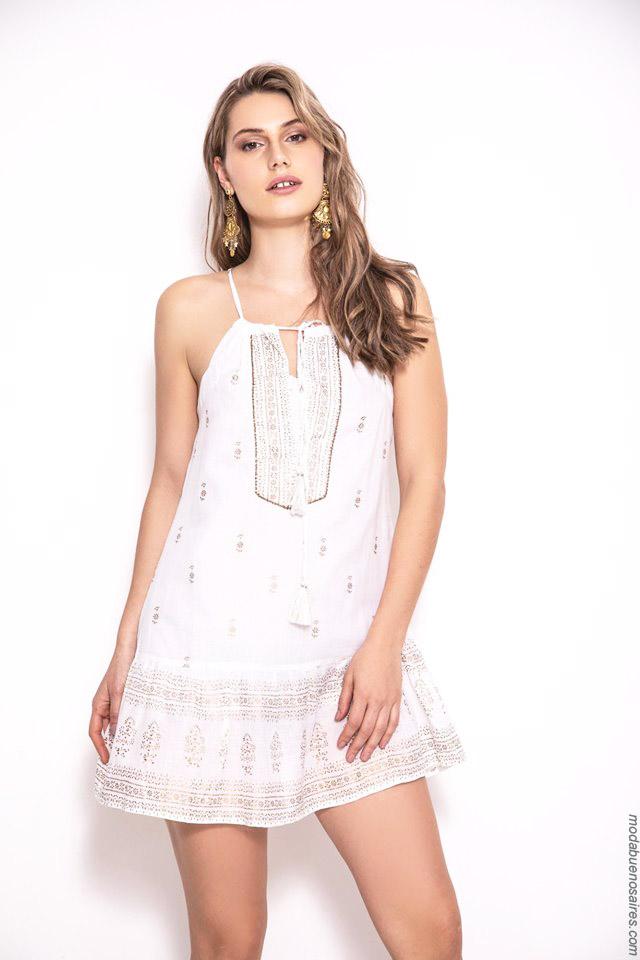 Vestidos cortos primavera verano 2020 moda mujer.