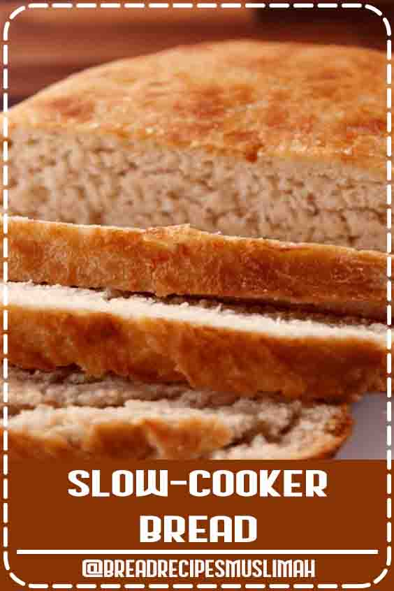 With this recipe for slow-cooker bread from Delish.com there's no waiting, no proofing and no headache. #Yeast #Bread #Recipes