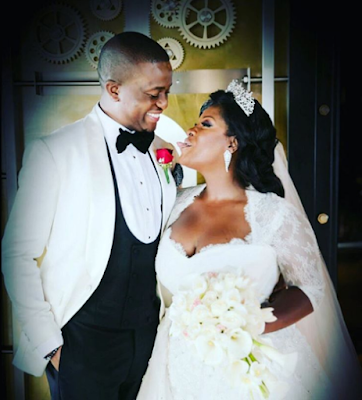 Tunde Demuren sends loving words to his wife Toolz on her birthday today