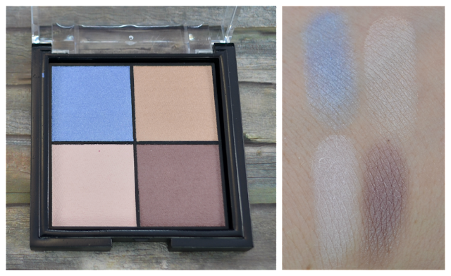 trend it up cool breeze LE quattro eye shadow 010 Swatches