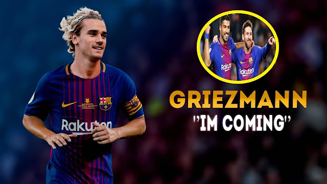 Antoine Griezmann Ke Barcelona Karena Ajakan Lionel Messi