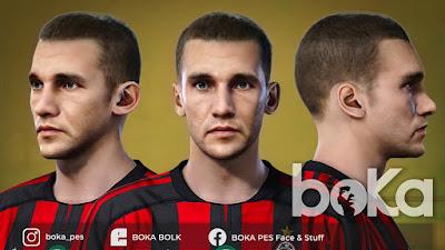 PES 2021 Faces Andriy Shevchenko 2003 by Boka