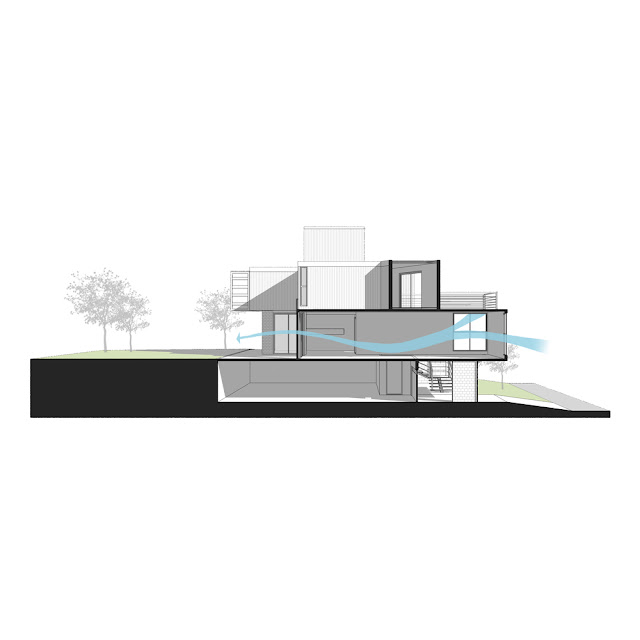 Casa Conteiner RD - 350 sqm Two Story Shipping Container Home, Brazil 45