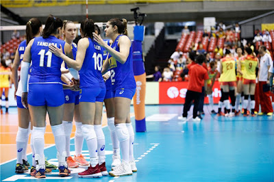 seleção de vôlei feminina perde para China