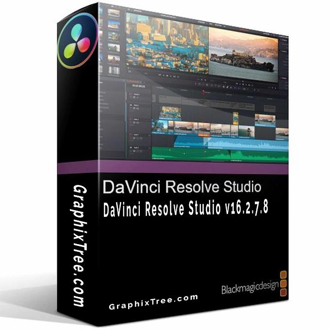 Blackmagic Design DaVinci Resolve Studio v16.2.7.8 + Fix