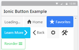 Ionic - Button
