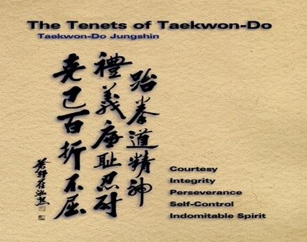 Ethics in learning Taekwondo