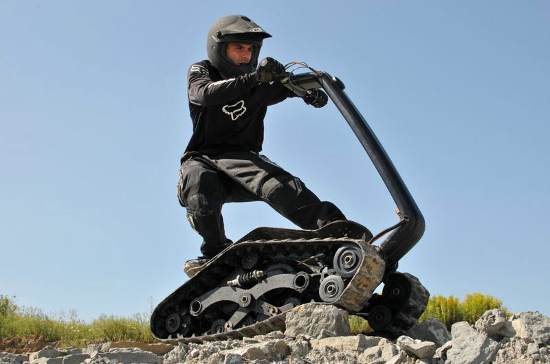Tracked scooters ideas for business