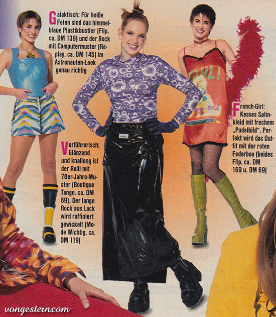 Beliebt Bevorzugt vongestern Blog: Modeknüller der 90er Jahre (1997) @YD_23