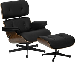 Presideo Lounge Chair and Ottoman Set
