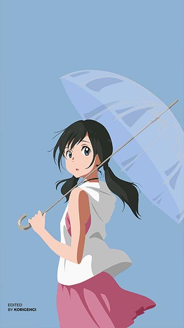 Hina Amano - Tenki no Ko Wallpaper