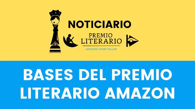 Bases del Premio literario Amazon Storyteller 2021.