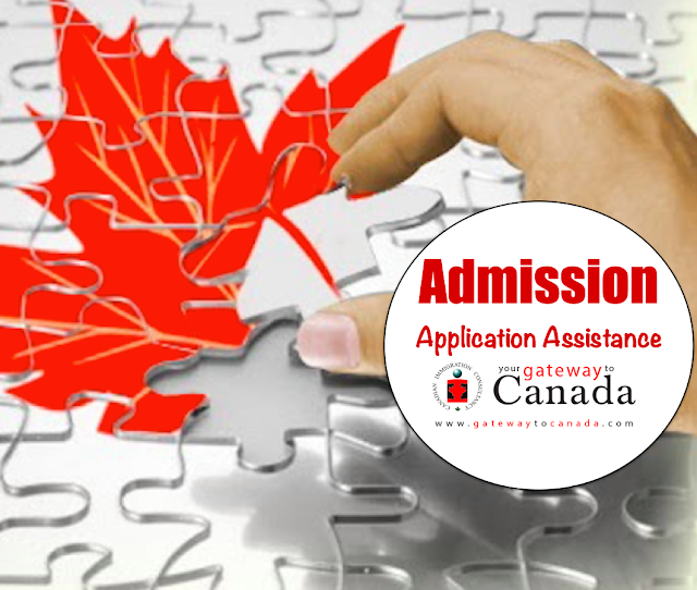 Admission Application Assistance