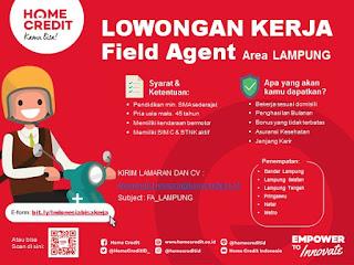 Bursa Lowongan PT. Home Credit Indonesia Juni 2020