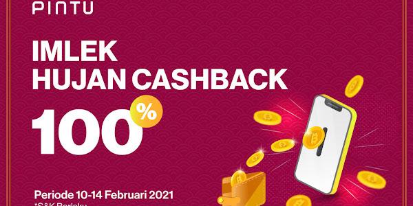 Hadiah Cuan Imlek Dapatkan Promo Cashback 100 Persen di Aplikasi Pintu