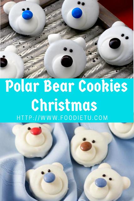 Polar Bear Cookies Christmas