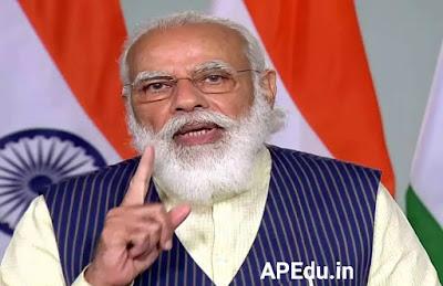 Modi: Modi's speech today on Live