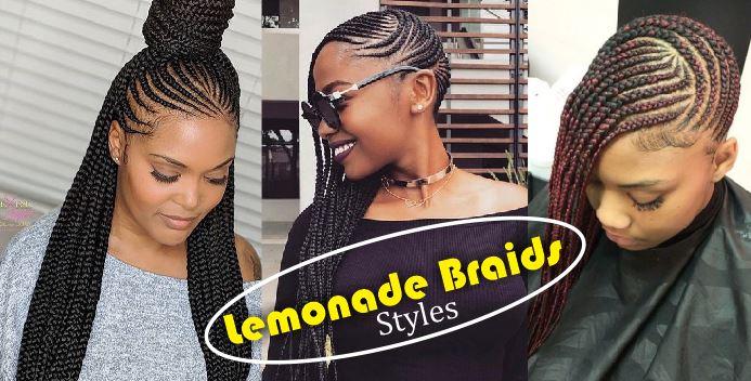 Lemonade Braids Hairstyles For African Queens Trendy Lemonade Braids To The Back 2020 Latest Ankara Styles 2020