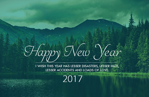 Happy New Year #2017 Greetings Application in Punjabi Font