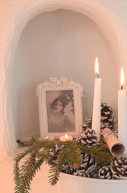 Lucia Fest mit Glögg und Weihnachtskekesen.