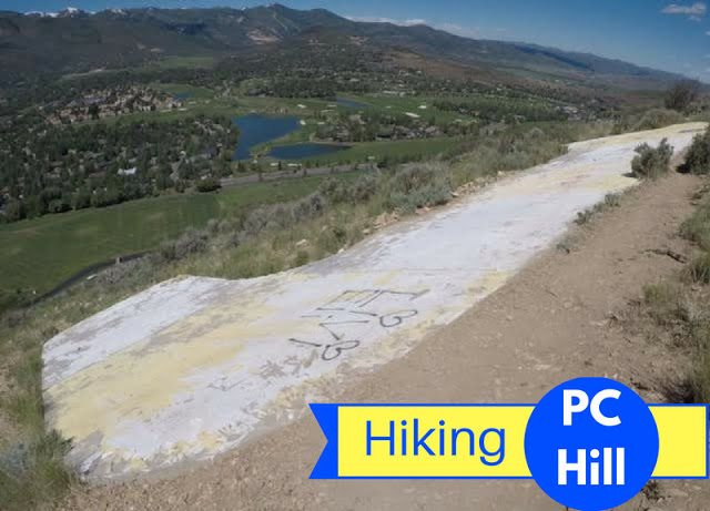 Hiking PC Hill in Park City, Utah