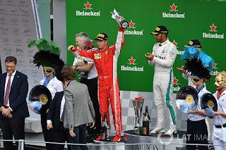 FÓRMULA 1 - Hamilton se interpone en la fiesta italiana de Monza