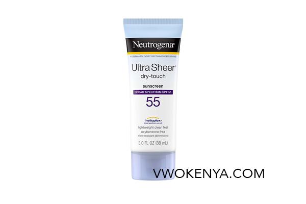 Kem chống nắng dành cho body Neutrogena Ultra Sheer Dry Touch SPF 55