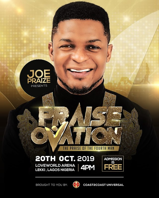 [Events] Joe Praize Presents - Praise Ovation (20th Oct. 2019)