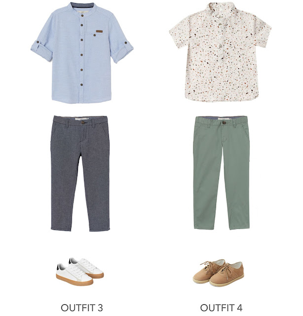 2 cute and trendy boys Easter outfit ideas