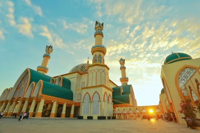 Image result for islamic center lombok