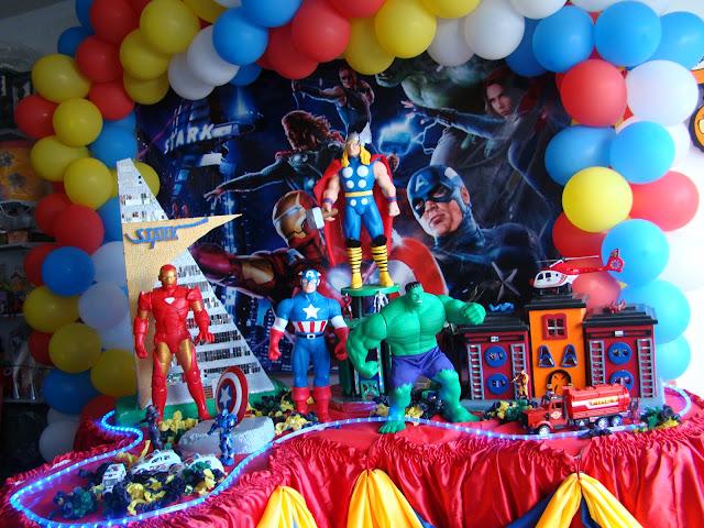 Decoração festa infantil Vingadores